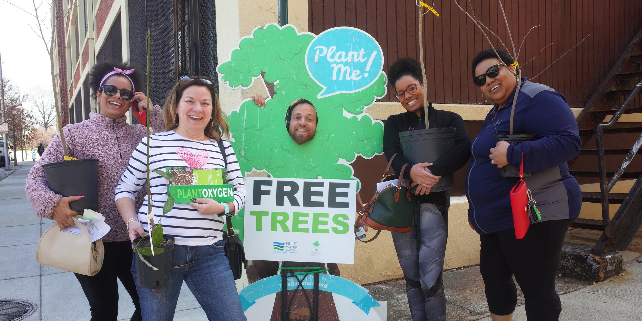 Take your own free tree at one of our upcoming tree giveaways!