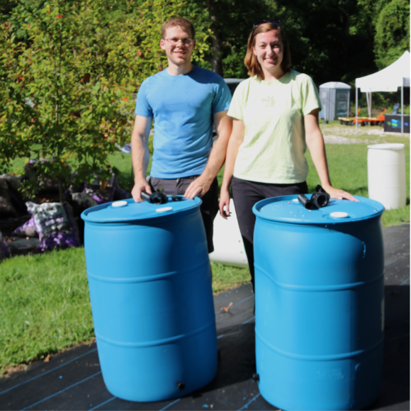 Learn about rainwater harvesting and build your own rain barrel at one of our workshops!